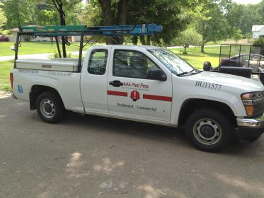 Service vehicle for AAA Pest Pros